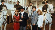 At  the Spanish Riding School - 1989