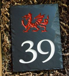 We love this rustic, Celtic-inspired Welsh slate house sign that we designed with a customer in store! 🏴 Pop into our Swansea store and we can help you to design the perfect house sign for your home. And you can take it away within just two weeks!  You can also have a go at designing any of our personalised Welsh slate online at www.valleymill.co.uk/personalised/
