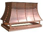 Chimney Cap - Copper French Curve 36 in.X30
