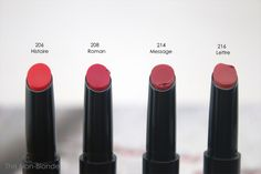 Afinal também quero o 208... Chanel Rouge Coco Stylo Complete Care Lip Shine 206, 208, 214, 216 | The Non-Blonde Chanel, Beauty Hacks, Beauty Tips, Beauty Products, Lip Shine, Perfume Reviews, Make Up, Coco, Fragrance