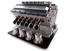 Espresso Veloce V12 - The 12 Cylinder Engine Coffee Machine