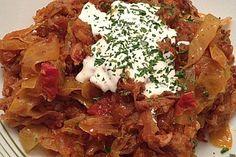 Bigos bzw. Bigosch, ein tolles Rezept aus der Kategorie Wild & Kaninchen. Bewertungen: 54. Durchschnitt: Ø 4,4.