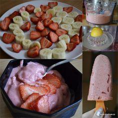 Banánová zmrzlina - brydova.cz Something Sweet, Sausage, Cereal, Meat, Breakfast, Food, Morning Coffee, Sausages, Essen