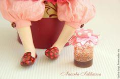 Купить Маруся и варенье. - розовый, авторская кукла, текстильная кукла, интерьерная кукла, продаётся, варенье