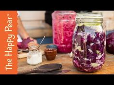 How to make Sauerkraut - The Happy Pear - YouTube