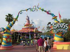 Dr. Seuss Landing - Orlando, Florida