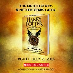 Pre-order your copy today! Harry Potter And The Cursed Child - Parts One & Two (SKU 12674183234)