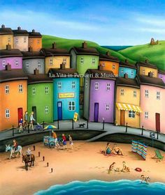 Spirit of Summer - Paul Horton Henri Rousseau, Paul Horton, Illustrations, Illustration Art, Spirit Of Summer, Academic Art, Naive Art, Creative Art, Creative Ideas