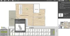 RoomSketcher software windows feature Kitchen Design Software, Interior Design Software, Home Interior Design, Garage Design, House Design, Bathroom Design Tool, Straight Stairs, Windows Software, Inspiration Wall