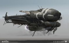 Bungie released a bunch of new concept art from Destiny earlier today. Destiny is easily one of my most anticipated games of 2014 and I'm looking forward to the game's beta a lot. Spaceship Concept, Concept Ships, Game Concept, Destiny Fallen, Destiny Game, Destiny Bungie, Concept Art World, Sci Fi Ships, World Of Darkness