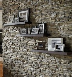 interior stone wall - in creamier tones, would be perfect texture wall for master bedroom behind bed/night stands