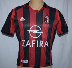 AC Milan SHEVCHENKO 7 Soccer Jersey Adidas Zafira US Juniors 7 European 164