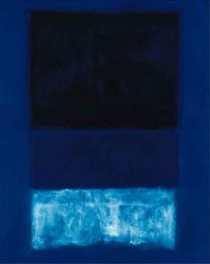 Mark Rothko. More blues.