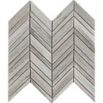 With the Palisandro Chevron Marble Mosaic Wall Tile, it's easy to add a splash of contemporary styling to your decor. This attractive tile features Chevron patterned pieces of marble arranged on a 12 Ceramic Mosaic Tile, Mosaic Wall Tiles, Marble Mosaic, Marble Wall, Backsplash Tile, Marble Floor, Stone Mosaic, Mosaics, Shower Accent Tile