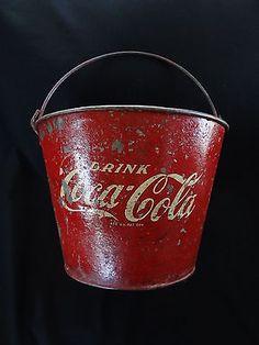 Vintage Coca Cola Ice Bucket