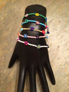 Beatnik Vibe - Flower Bracelet, $2.95 (http://beatnikvibe.com/flower-bracelet/)