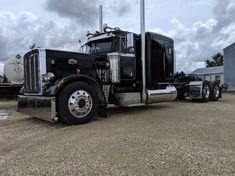 Big Rig Trucks, Tow Truck, Semi Trucks, Cool Trucks, Peterbilt 359, Peterbilt Trucks, Cool Guns, Black Diamonds, Big Boys
