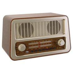 Fifties Radio, leuke accessoire voor de woonkamer!