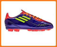 Adidas F10 TRX HG J purple   red   neon yellow soccer shoes current color 5cd9222a72417