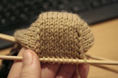 Kantapään neulominen - ohje