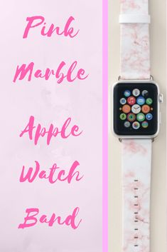 Shop Pink Marble Apple Watch Band created by redbook. Pink Apple Watch Band, Best Apple Watch, Apple Watch Iphone, Apple Watch Series 1, Apple Fitness, Best Mothers Day Gifts, Pink Marble, Apple Products, Series 4