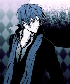 he has a Sherlock coat! Gakupo Kamui, Vocaloid Kaito, Kaito Shion, Aoki Lapis, Servant Of Evil, Vocaloid Characters, Bishounen, Anime Fantasy, Anime Style