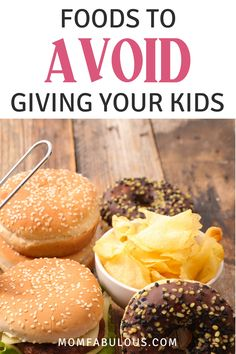 Most of the foods marketed towards kids (think juices, snacks, and candy) are loaded with 3 unhealthy ingredients: sugar, salt, or saturated fats. Let's assess those culprits and educate you on which foods to avoid giving your kids. Shrimp Salad Recipes, Healthy Salad Recipes, Pasta Recipes, Crockpot Recipes, Soup Recipes, Drink Recipes, Vegetarian Recipes, Best Dessert Recipes, Breakfast Recipes