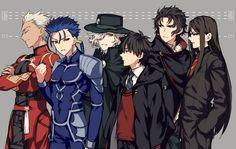花瓣 All Anime, Me Me Me Anime, Anime Guys, Character Concept, Character Art, Fate Stay Night Anime, Anime Japan, Fate Zero, Star Lord