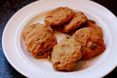 Pumpkin Chocolate Chip Cookies #recipe #fall #Halloween