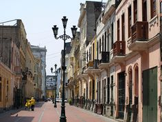 Peru Travel: Colonial streets, Lima - http://bookcheaptravels.com/peru-travel-colonial-streets-lima/ - Peru Travel: Colonial streets, Lima  Image by Latin America For Less Central Lima is home to the city's original colonial buildings, where the Spanish influence is still clearly visible.  You can use this image on your blog or website, but please link and attribute: Views of Lima © Matthew  ... - Colonial, Lima, Peru, streets, Travel