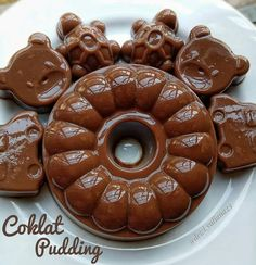 Pudding Desserts, Pudding Recipes, Cake Recipes, Dessert Recipes, Dessert Ideas, Asian Desserts, Indonesian Food, Breakfast For Dinner, Diy Food