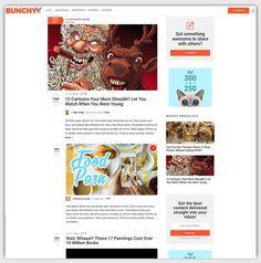 bunchy Viral Magazine WordPress Theme buzz