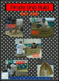Make a Pirate Ship out of Cardboard