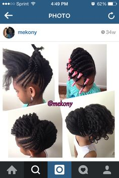 Go to @mekony on Instagram for more hairstyles