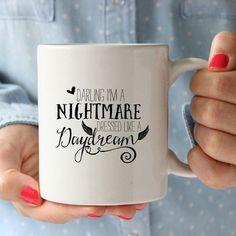 Nightmare Dressed Like A Daydream Coffee Mug | Cicada