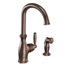 Features:  -Single handle lever design for ease of use.  -Convenient side spray.  -ADA compliant.  -Single hole mount.  -Connection type: compression.  -Quick connect system for easy installation.  Pr