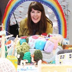 If you live in Bristol you need to check out the knitted city exhibition in the M Shed! I could look at it for hours!