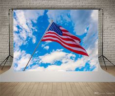 SUSU Scenic Blue Sky Photography Backdrops 7x5ft USA Flag Photo Background to Celebrate Independence Day Photo Video Independence Day Background Blue Sky Photo Backdrop Baby Background 4th of July Backgrounds Black Backdrop Online with $156.12/Piece on Fanny08's Store | DHgate.com