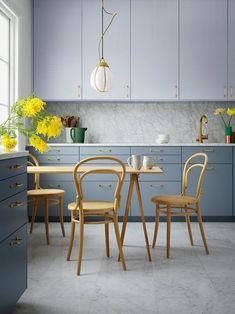 Shop Original BTC Lighting @ Olson and Baker Kitchen Base Cabinets, Kitchen Paint, Ikea Kitchen, Kitchen Decor, Kitchen Ideas, Shaker Style Kitchens, Grey Kitchens, Kitchen Colour Schemes, Kitchen Colors
