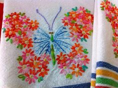 Butterfly! #embroidery #butterfly