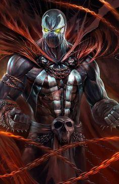Spawn, o Soldado do Inferno, the Hell Soldier.