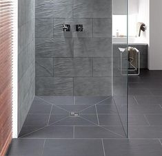 roll in shower stylish - Google Search