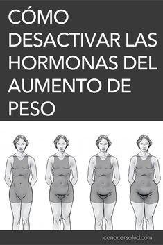 Cómo desactivar las hormonas del aumento de peso #salud