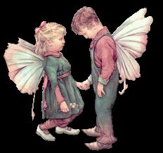 Fairy Children Kiss Photo by poeticblueyes | Photobucket