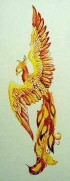 watercolor phoenix - Google Search