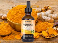 Vegan Turmeric - anti inflammatory - Liquid Turmeric Drops from SBR Nutrition www.sbrnutrition.com