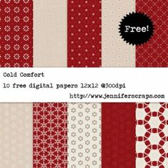 all kinds of free digital scrapbook pages