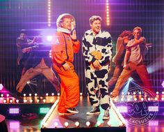 When the 2 best things in the world meet Niall and a cow ahhh