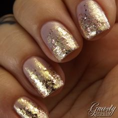 Gnarly Gnails: Catrice Lilactric with Maybelline Gilded Rose