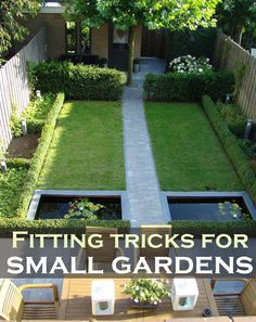 small gardens its not a problem if you know the right tricks you can achieve small garden designgarden - Bambus Garten Design